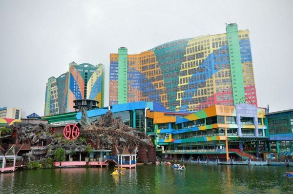Picture of the only casino resort in Malaysia, the Resorts World Genting. Gambling is legal in Malaysia, however, online gambling is prohibited.