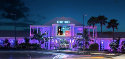 Picture of a casino in Martinique. Gambling is legal in Martinique but providers have to acquire proper licences to operate.