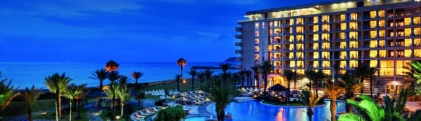 Picture of the Mövenpick Hotel & Casino located in Morocco. This is the header image of my gambling, online gambling and Morocco casino guide. Gambling is legal in Morocco