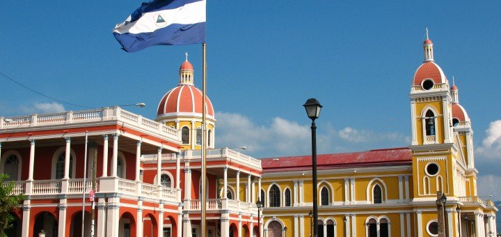 The picture shows you a building in Granada, Nicaragua. Gambling is legal in Nicaragua.