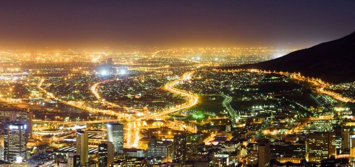 Picture of Ghana's capital city of Accra.