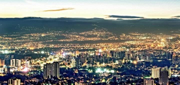 Picture of Guatemala's capital, Guatemala City. Gambling in Guatemala is illegal but online gambling is not regulated.