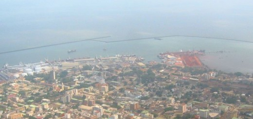 Picture of Conakry, the capital city of Guinea. Gambling is legal and regulated in Guinea.