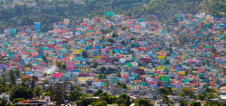 Picture of Haiti's capital city, Port-au-Prince. Land-based gambling is legal in Haiti but online gambling is not yet regulated.