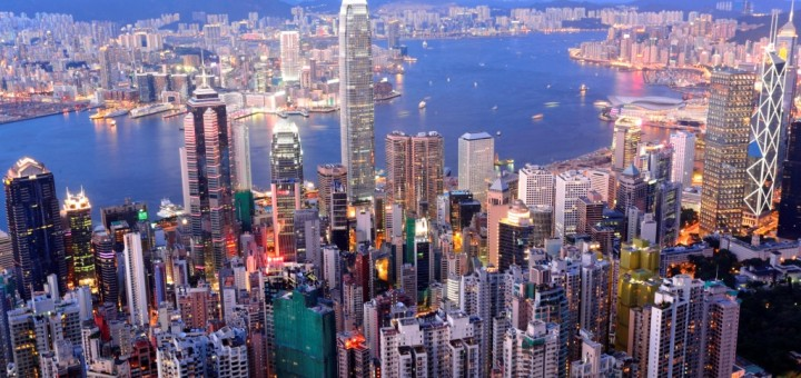 Picture of Hong Kong. Gambling is legal and regulated in Hong Kong.