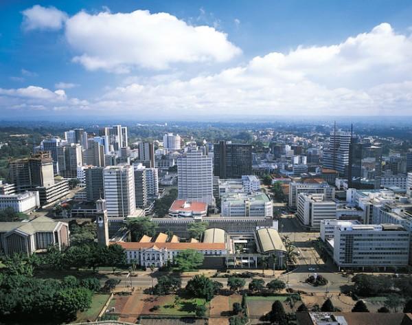 Picture of Kenya's capital city of Nairubi. Gambling is legal and regulated in Kenya.