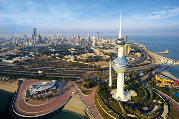 Picture of Kuwait City in Kuwait. Gambling is completely illegal in Kuwait and players are prosecuted if caught.