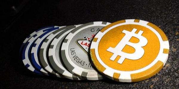 This is a picture of Bitcoin chips . The Bitcoin chips symbolize bonus bitcoins at Bitcoin casinos. This is the header image of my Bitcoin bonus guide.