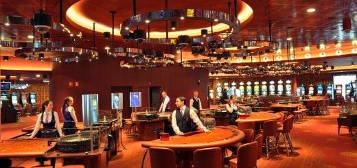 The interior of Grand Casino Brussels Viage located in Belgium