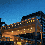 This is a picture of Grand Hotel Opatija, where Casino Adriatic is located. To the right of the picture, you can read more about this casino.
