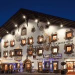 This is a picture of Casino Kitzbühel. To the right of the picture, you can read more about this casino.