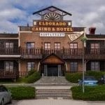 This is an image of the gate of Casino Admiral Eldorado in Horní Folmava. You can read more about the casino to the right of the picture details such as: description, address, dress code, opening hours, a video and number of games.