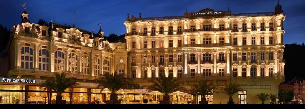 This is a picture of the exterior view of the Grandhotel Pupp, hotel & casino club, the most elegant casino establishment of Online casinos in the Czech Republic. Under this picture you can read about the various laws, regulations and rules governing casino gambling (online and land-based) in the Online casinos in the Czech Republic. + includes a list of the biggest Czech casino, Czech online casinos