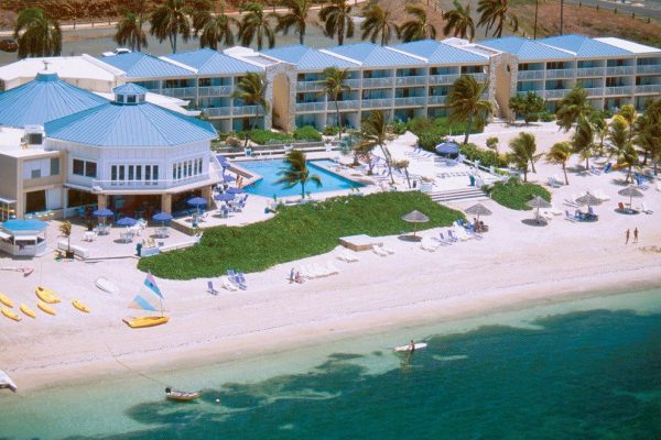 View of the Divi Carina Bay Resort & Casino, where the only casino in the US Virgin Islands is located