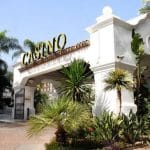 This is a picture of the front gate of Casino Marbella. Next to this picture you can read more about this Spain gambling venue.