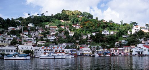 Kingstown, the capital of Saint Vincent, where the largest casino of the country is located