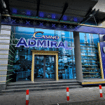 This is a picture of the front entrance of Casino Tornado Antakalnio in Vilnius, the flagship casino of the Casino Admiral group in Lithuania. You can read more about the venue to the right of the picture.