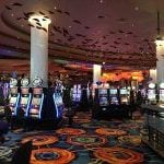 This is a picture of slots inside Feel Vegas Casino Sello, one of the Feel Vegas brand casinos in Finland. You can read about the casino to the right of the picture.
