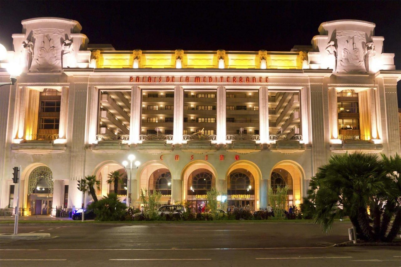 This is a picture of the French casino The Palais de la Méditerranée Casino. On this page, under the picture you can read about casino gambling, casinos and online casinos in France.