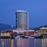 This is a picture of JRW Welmond Hotel and Casino in Batumi (formerly LeoGrand). You can read more about this gambling establishment next to the picture.