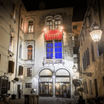 This is a picture of the court of Casino di Venezia Ca' Vendramin Calergi in Venice, Italy, Italy's oldest continuously operating gambling establishment. You can read about the casino to the right of the picture.