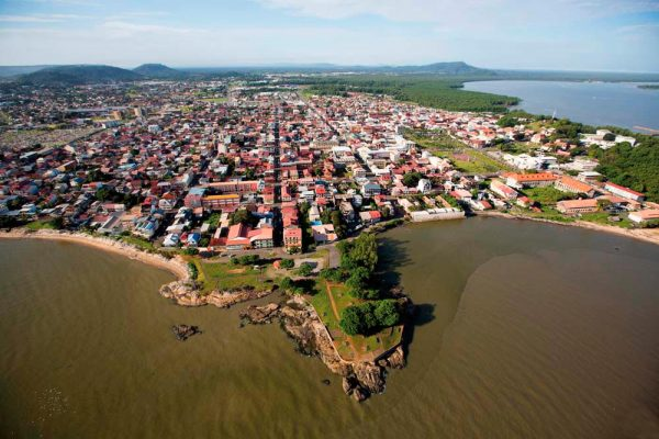 This is an aerial photo (not drone, from an airplane) of the port of Cayenne, the capital of French Guiana. On this page you can find a list of brick & mortar gaming venues, and licensed internet casino websites, which accept gamblers from the country.