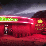 This is a picture of Casino Montecarlo in Santa Ana. To the right of the picture you can read more about this casino.