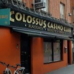This is a picture of the entrance of the Colossus Casino Club Ireland's oldest private gambling club. You can read more about the casino to the right of the picture.
