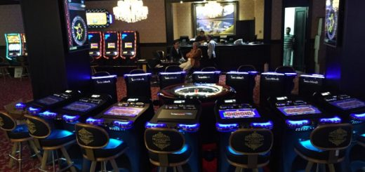Roulette installation in the Millionaire Casino Club in Bogota, Colombia