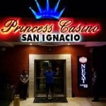 This is a picture of the front gate of Princess Casino San Ignacio, one of the 5 casinos in Belize. To the right of the picture you can read more about this casino.