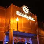 This is a picture of the front entrance of Treasure Bay Casino in Castries, the capital of Saint Lucia, this is the first and so far only casino in the country. To the right of the picture you can read more about this casino.