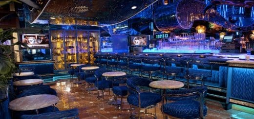 This a picture of the interior of the Oceana casino in Liberia.