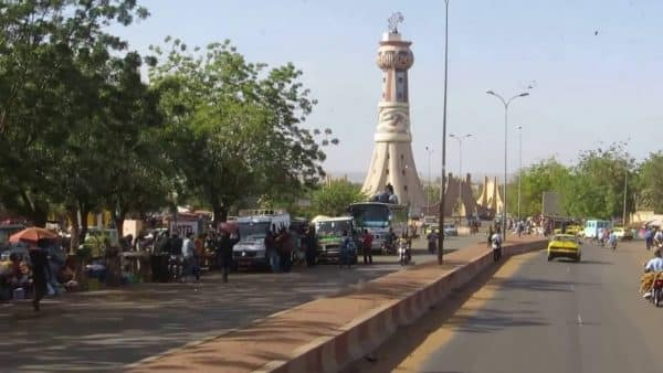 Street in Bamako, the capital of Mali