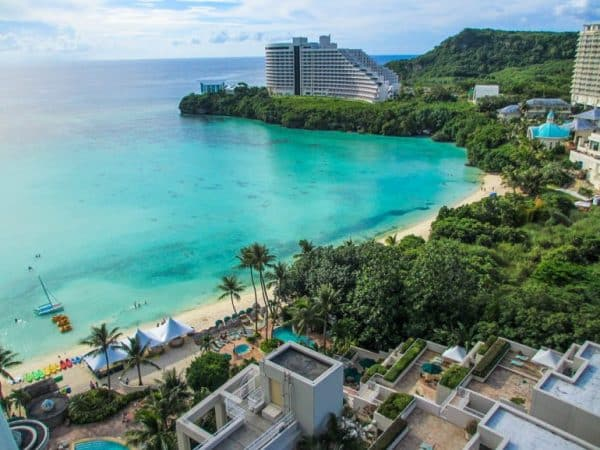 This is a picture of a beach in Guam. On this page you can find more info about the legal status of casino gambling, casinos, online casinos, taxation, licensing, gambling age in the US territory of GUAM (two letter code of the territory, and top level domain: GA).