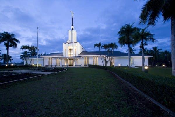 Temple in Nuku'alofa, the capital of Tonga
