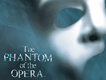 This i the logo of the Phantom of the Opera slot from Microgaming.