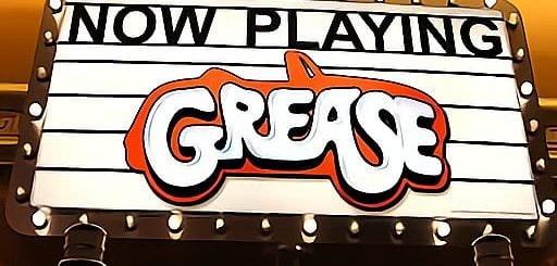 This is the Grease slot header. On this page you can play this digital pokies online.