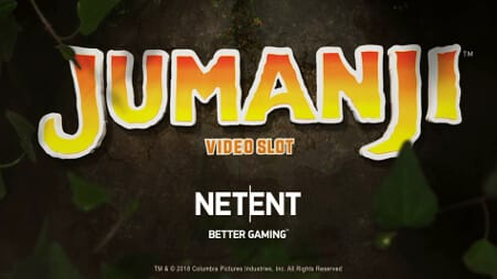 This is the official header image of Netent's Jumanji digital pokies. You can try out this free-to-play game on this webpage.