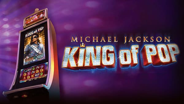 This is the header image of Michael Jackson - The King of Pop 2016 Bally Slot. On this page you can play with this free online fruit machine.