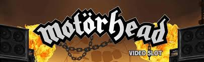 This is the header image of the Motörhead online digital video slot page. On rhis page you can play this game for free, no registration required.
