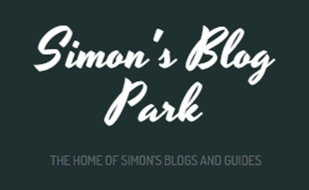 This is the logo of the Simon's Blog Park. A collection of successful affiliate blogs  created by Simon András Péter (a.k.a SimonTheSorcerer). On the picture you can read the following text beside the logo: the home of Simon's blogs and guides.